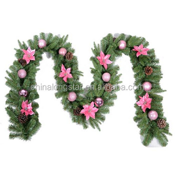 Pe Christmas Hanging Garland Buy Pe Christmas Garland Blue Christmas Garland Metal Christmas Garland Product On Alibaba Com