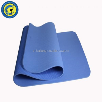 Hot Sale 4mm Sertifikat Organik Eco Yoga Mat