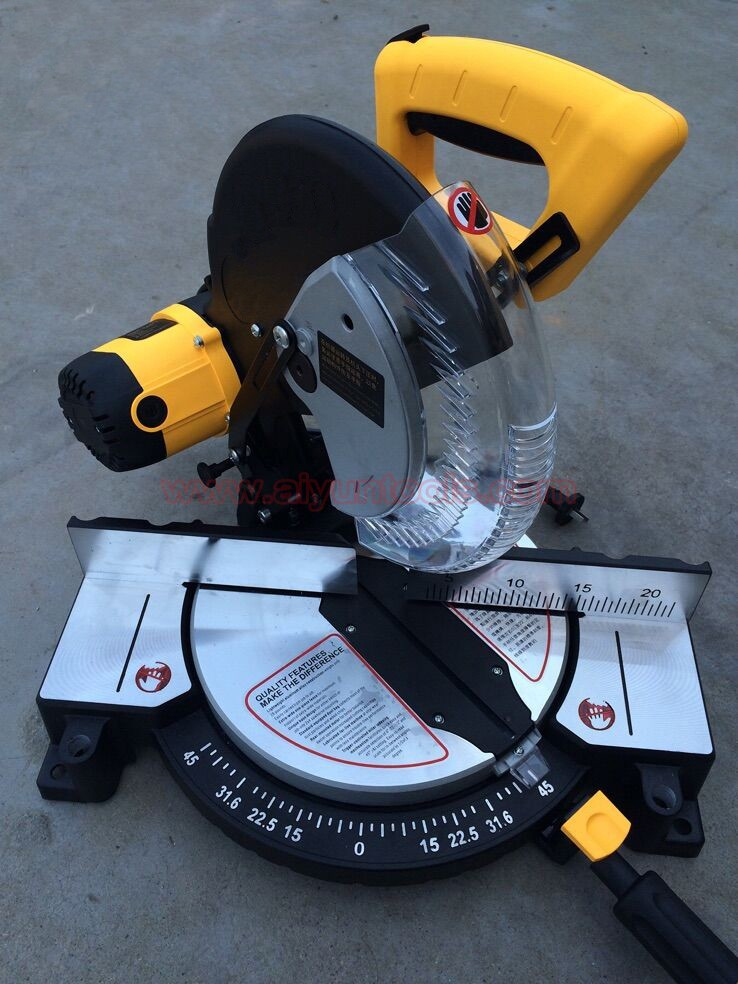 "10""(255MM) 12""(305mm) Miter saw electric power circular saw cutting"