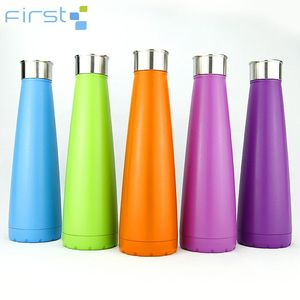 450ml stainless steel vacuum sports bottle of water for kids