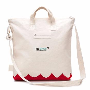d4fb07360f 15 quot  X 16 quot  X 3 quot  Eco Friendly Natural Shopping Bag shoulder  strap cotton
