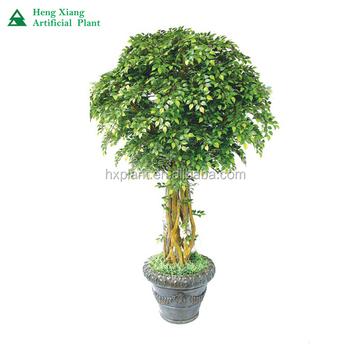2017 Hot Sale Indoor Artificial Tree Plants,Artificial Green ...