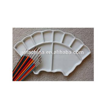 Fan Shaped Watercolor Porcelain Palette Acrylic Paint Palette Buy Acrylic Paint Palette Acrylic Paint Palette Acrylic Paint Palette Product On