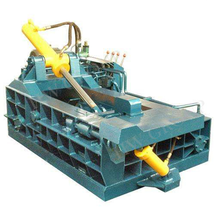 Metal recycling hydraulic scrap metal baling press machine/baler machine