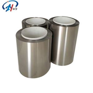 High precision Astm b265 gr5 titanium alloy foil in coil price per kg