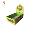 Foldable Shelf Ready Retail Cardboard Display Box for Candy