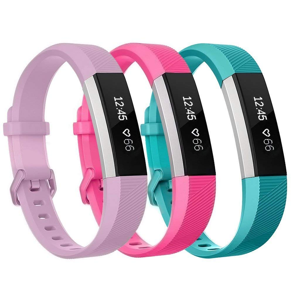 Kartice for Fitbit ace Bands,Soft Silicone Replacement in Varied Colors Fitbit Alta Accessory Band with Secure Buckle for Fitbit Alta HR and Fitbit Alta