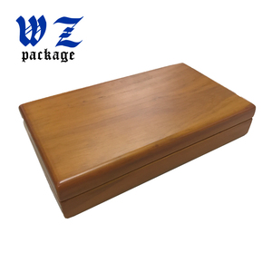 Luxury MDF Wooden Packaging Gift Craft Box With Ineer Silk