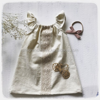 76828cb811d66 Boutique Linen Frock Design For Baby Girl Kids Clothes Flower Girl Dress  Patterns Hot Selling In 2018 - Buy Exquisite Linen Frock,Dress Kids,Casual  ...