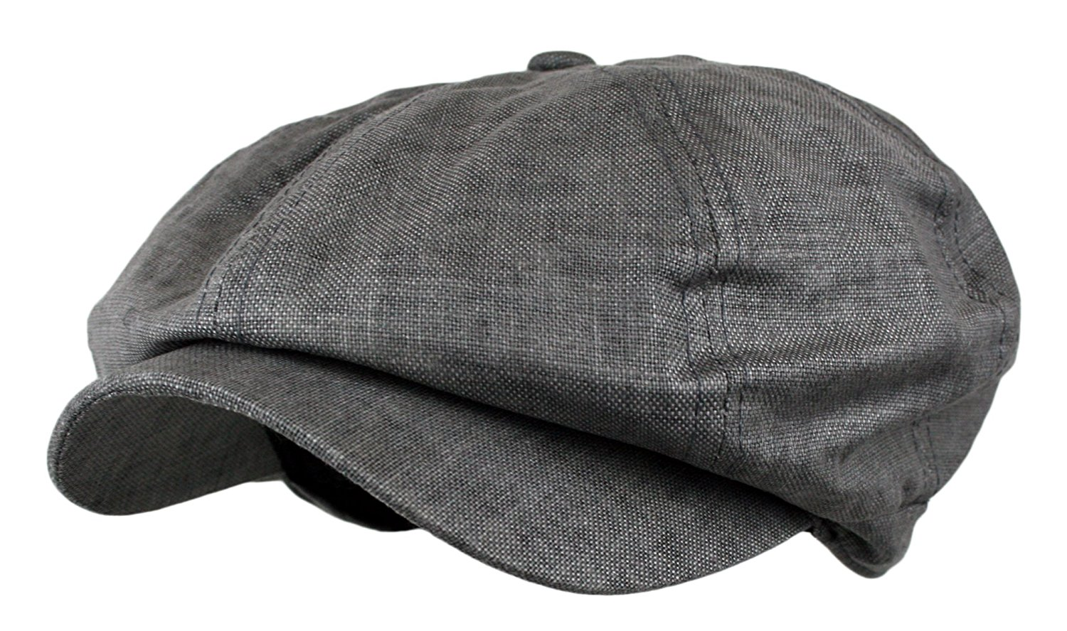 Get Quotations · Wonderful Fashion Men s Linen 8 Panel Applejack Gatsby  newsboy IVY Hat c37f98dabe6
