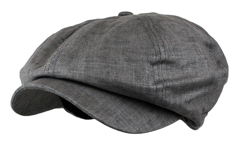Get Quotations · Wonderful Fashion Men s Linen 8 Panel Applejack Gatsby  newsboy IVY Hat 1a43f81af1aa