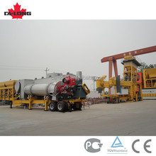 56t/h CLY-700 low price mobile asphalt mixing plant, mobile plant