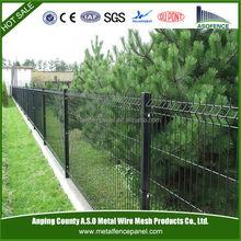 recubierto de pvc soldadas paneles de cercas para el jardnbarato jardn cercado