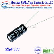 Original electronics IC Aluminum electrolytic capacitor 50v 1000uf