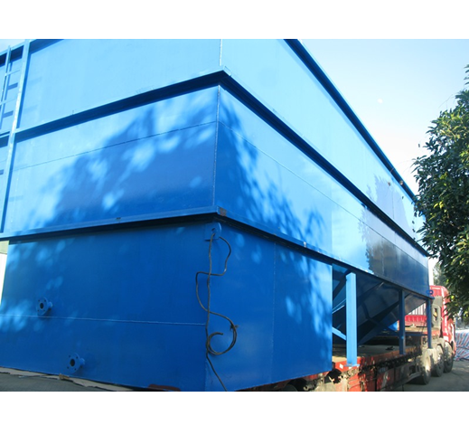Small sewage treatment plant for package sewage treatment