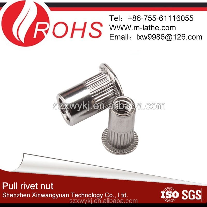 M6 Blind Knurled Sealed Rivet Nuts