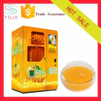 Orange Fruit Juicer Freshly Squeezed Vending Machine