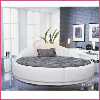 apartment furniture soft round bed on sale o6805 buy apartment furniture bed furniture on. Black Bedroom Furniture Sets. Home Design Ideas