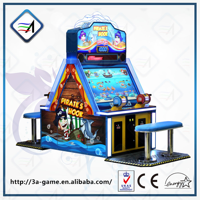 Arcade redemption kid pirate hook fishing game machine for Arcade fishing games