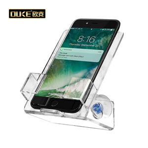 China supplier permanent plastic acrylic phone display