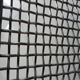 Edge covered mine sieving sand vibrating screen crimp wire mesh