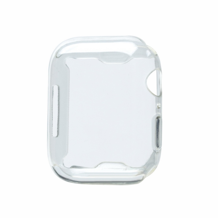 For Apple Watch Series 4 TPU Protective Case 40MM 44MM TPU Clear Frame Protection <strong>Cover</strong> for Apple Watch Case