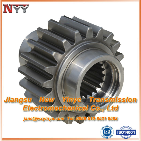 Industrial transmission gear of Shaft gear and Insert internal spline
