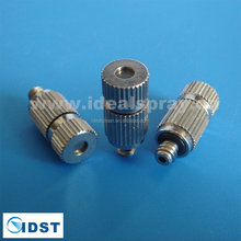 Cooling system water misting fog spray nozzle