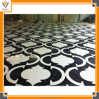 black and white marble floor decoration black marble for floor in hotel