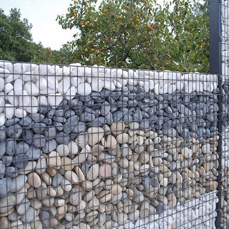 4x1x1 plastic gabion box for retaining wall