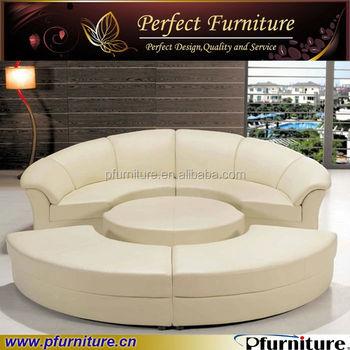 Pfs2121b China Factory Price Modern Round Function Sofa Bed