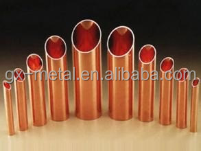Hard drawn copper pipe for refrigeration various sizes