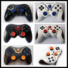 nirkabel ganda shock <span class=keywords><strong>bluetooth</strong></span> kontroler gamepad <span class=keywords><strong>joypad</strong></span> untuk ps3 game pad