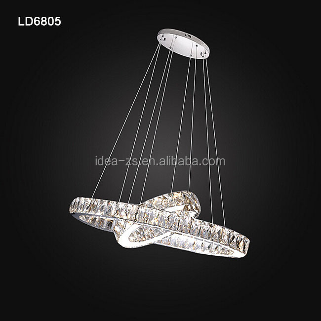 Ld6805-660 Crystal Lamp Ceiling Light Living,Lighted Stands For ...