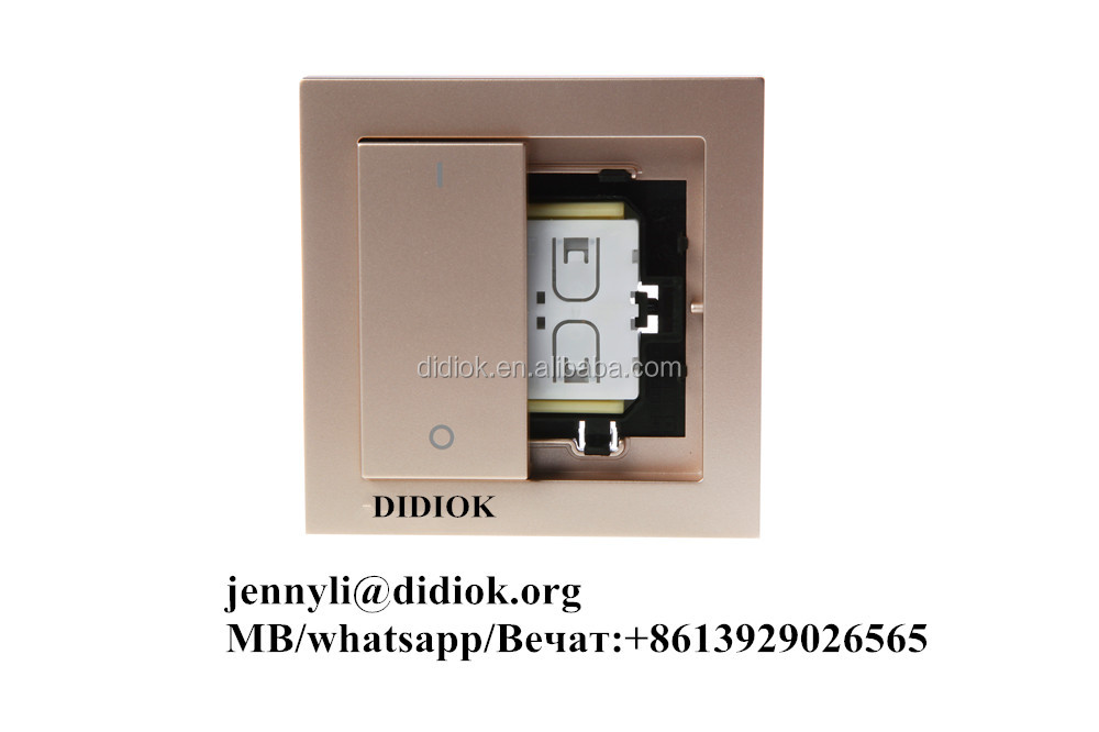 433mhz Smart Electrical Wall Remote Wireless Switch - Buy Wireless ...