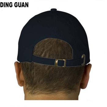 b1577a1b6ac Custom Structured Metal Buckle Closed Back Fitted Baseball Cap ...