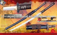 Handmade quality clay-tempered samurai sword