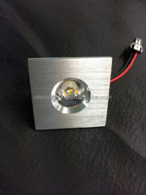 dimmable 1 watt encastr led mini spot avec rouge vert bleu blanc lumi re led downlights. Black Bedroom Furniture Sets. Home Design Ideas