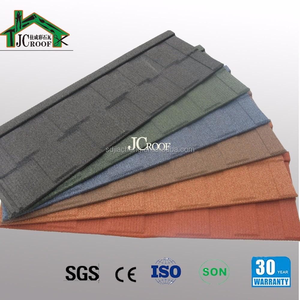 Dachziegelarten  Stein beschichtetem metall dachziegel Arten von aluminium ...