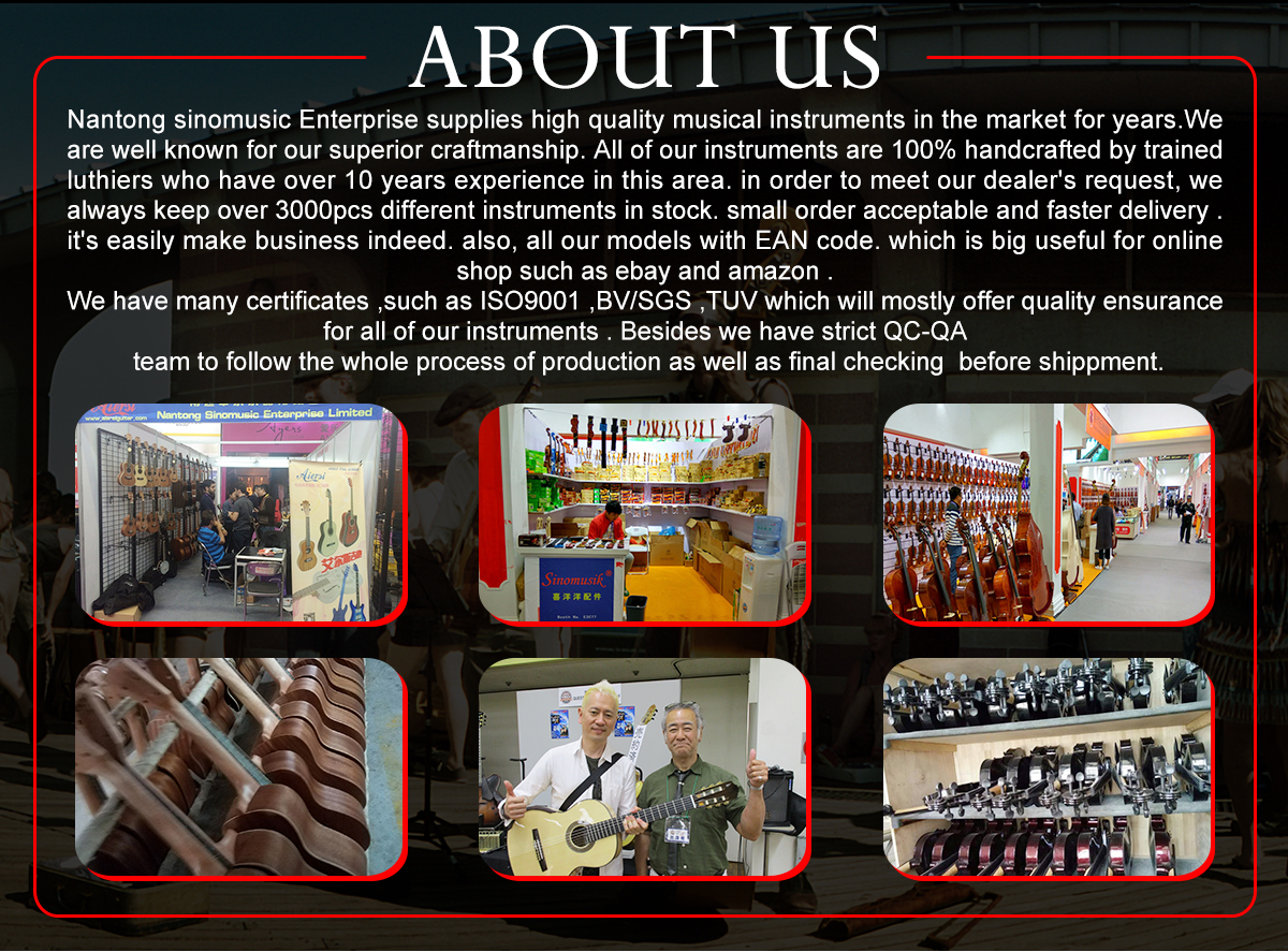 Chinese Guitar Factory Price Custom brands Electrical guitars