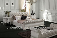 CNBM 2014 best selling cheap White bedroom furniture