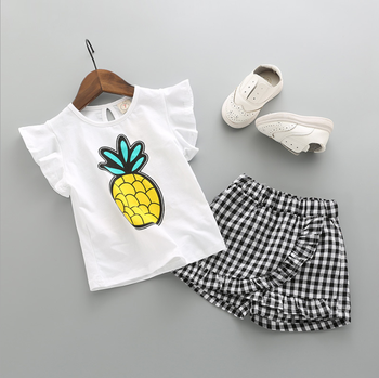 SEV.WEN summer kids clothes 2018 the new fashion cartoon baby suit
