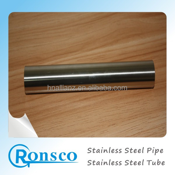 Hunan big factory provide 321 ASTM stainless steel pipe