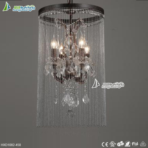 Indoor Decorative industrial lighting pendants vintage,large pendant lamps for style#HXD1082-450