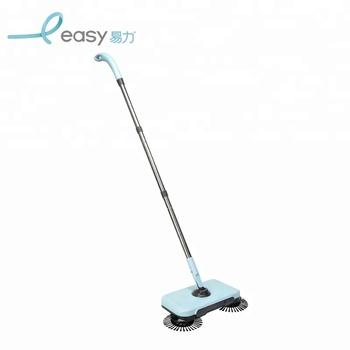 Ping Spin Broom Tile Floor Dust Sweeper
