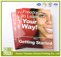 Hight quality China cheap paperback book printing on sale