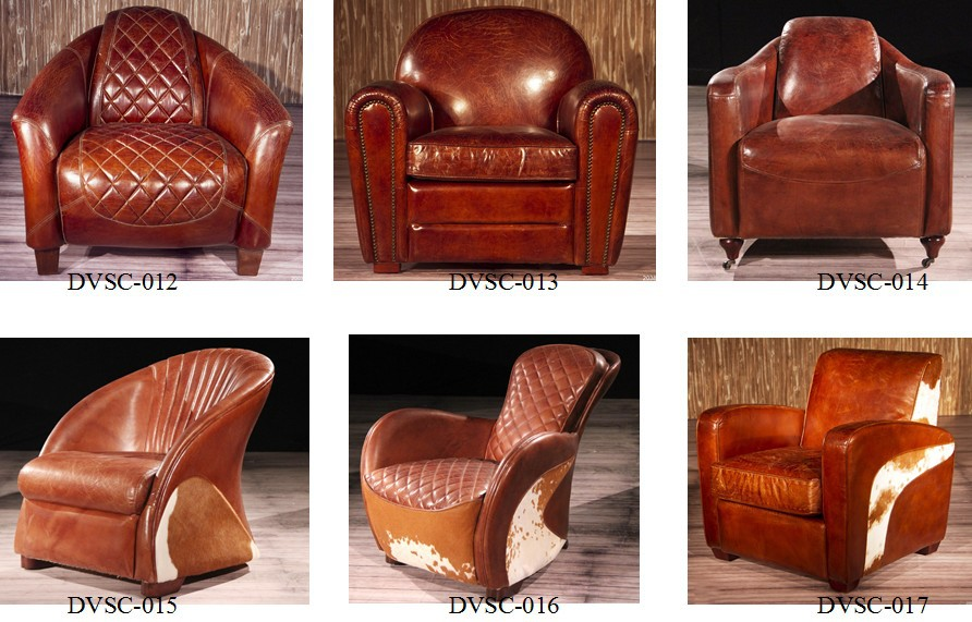 Charmant Deluxe Club Hennessy Brown Leather Armchair With Wheels