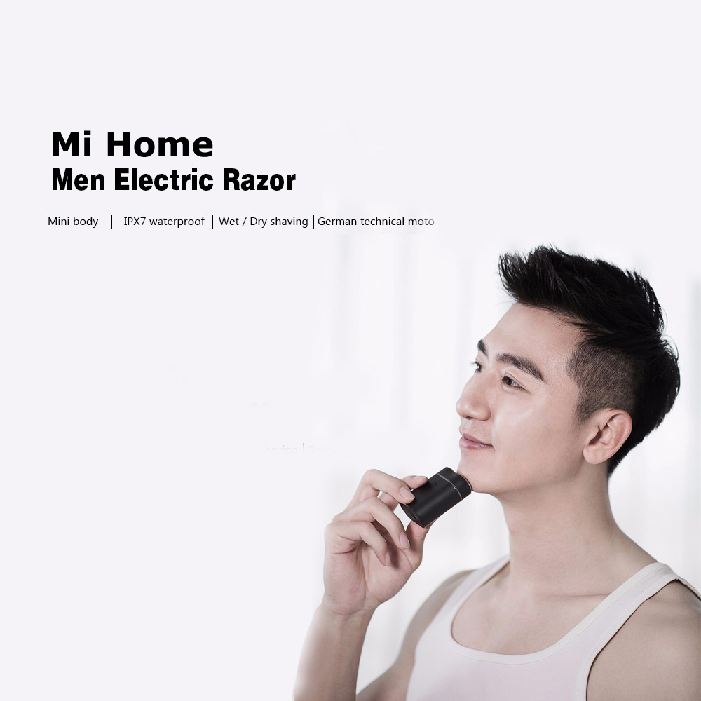 Waterproof Wet Dry Shaving Xiaomi Mi Home Rechargeable Battery Operated Man Electric Shaver