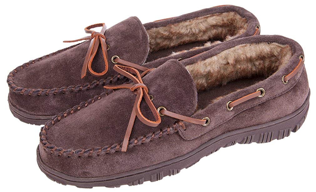 b7fae39d52c Get Quotations · MIXIN Men s Indoor Outdoor Causal Loafers Comfort Cowhide  Leather Driving Flats Moccasins Slippers Shoes