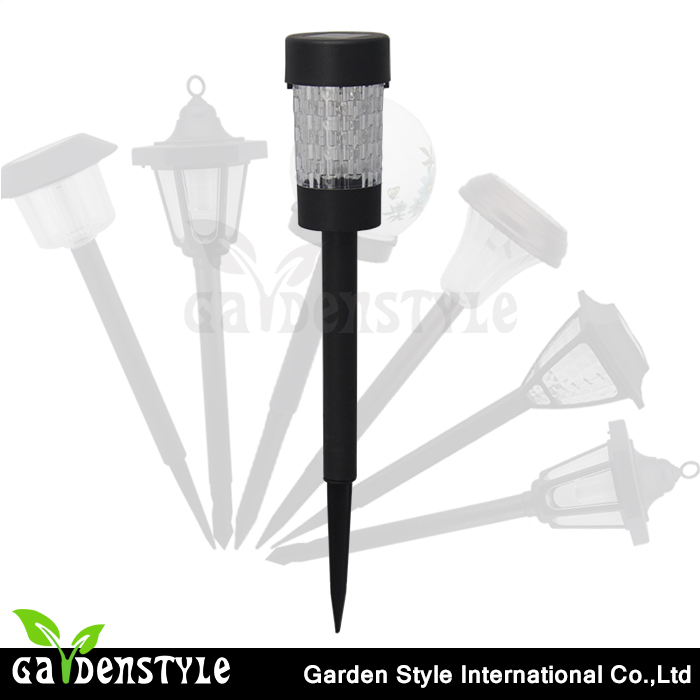 sunlight to power the led solar lights can make houses top plastic lawn lamp design feeling deling appearance in Ningbo